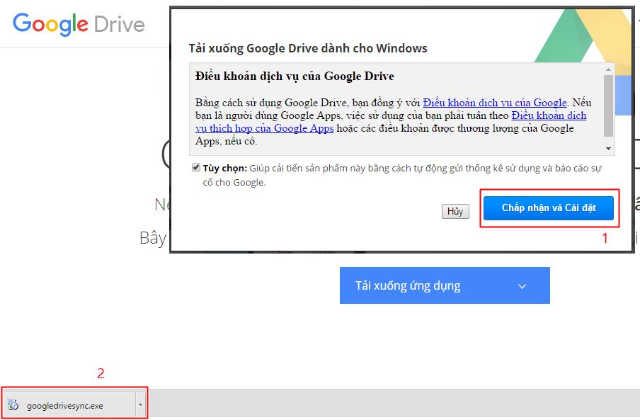 Huong dan cai dat google drive 3