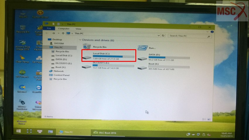 Hướng dẫn sửa lỗi file Boot BCD cho hệ điều hành Windows