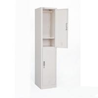 Tủ sắt locker cánh mở treo quần áo có khóa LK-2N-01D